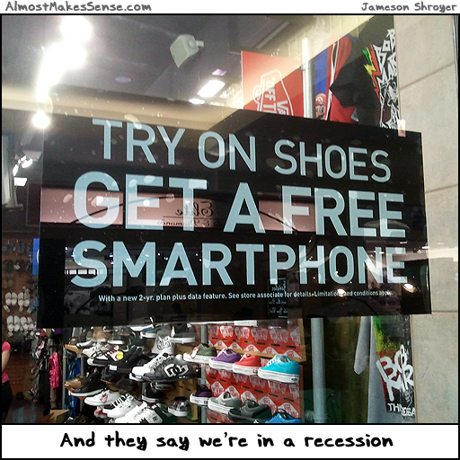Shoes Smartphone