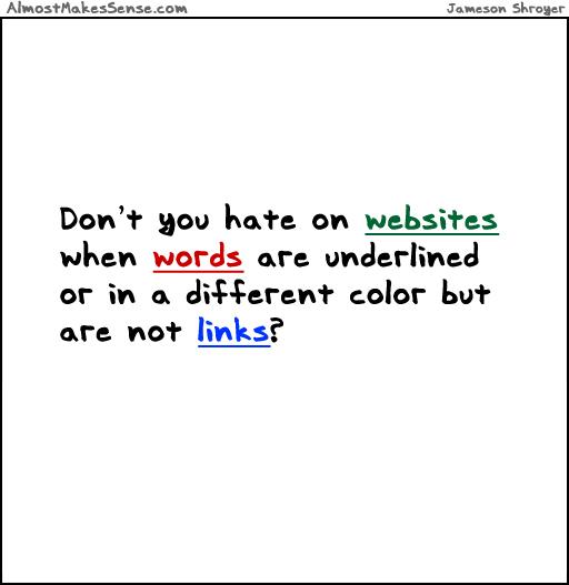 Not Links