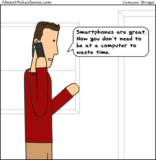 Smartphone Waste Time