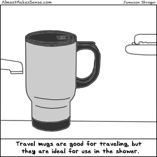 Travel Mug Shower