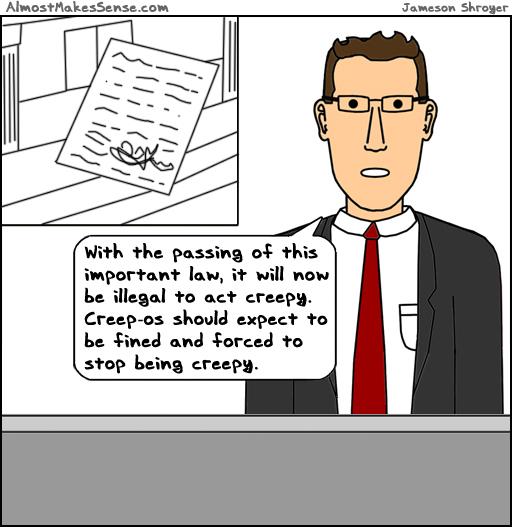 Creepy Law