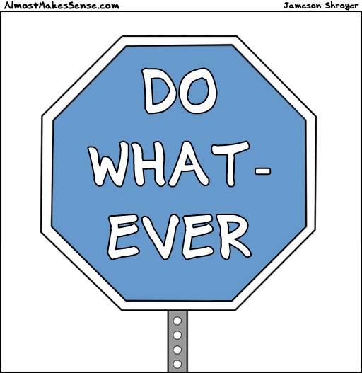 Whatever Sign