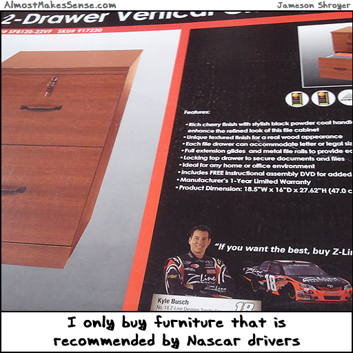 Nascar Furniture