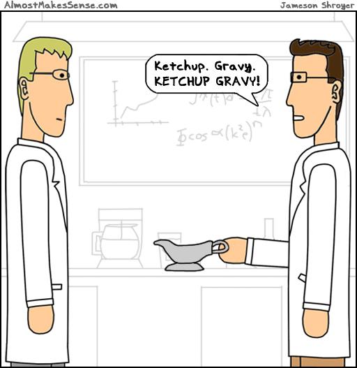 Ketchup Gravy