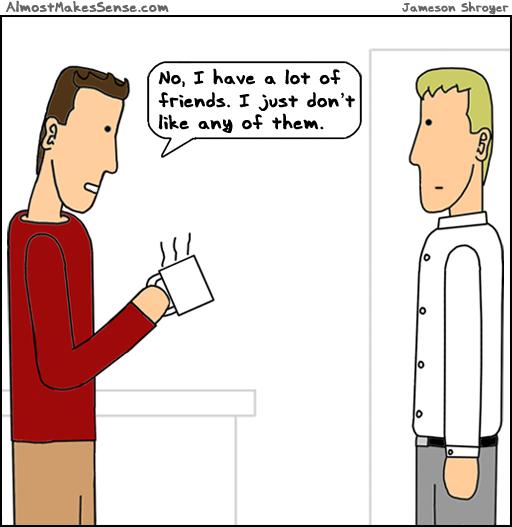 Dislike Friends