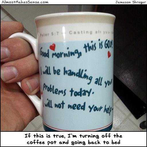 God Problems Mug
