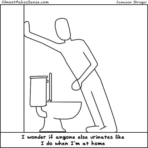 Urinates Like Me