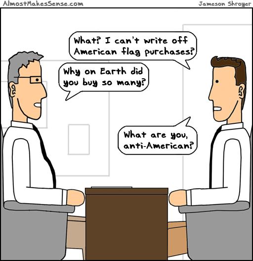 Flag Purchases