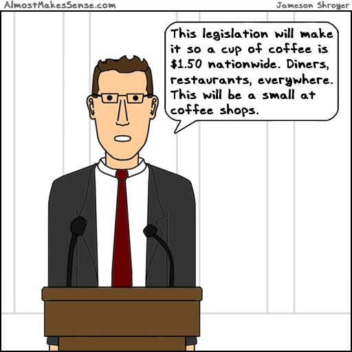 Coffee Legislation