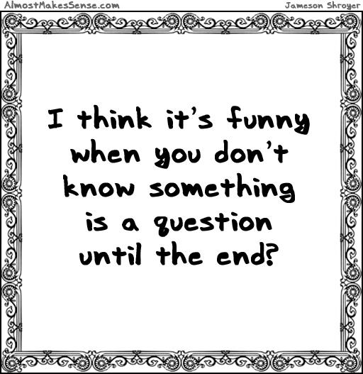 Question End