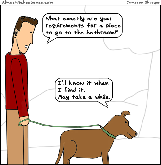 Dog Requirements