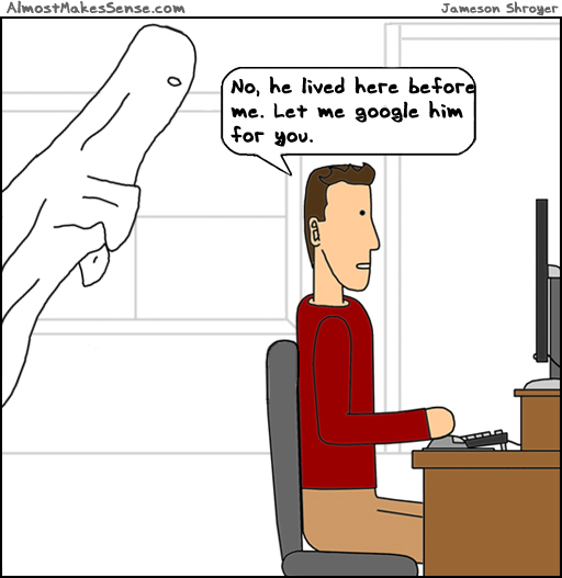 Ghost Google