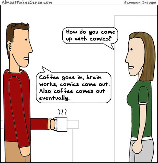 Comics Coffee