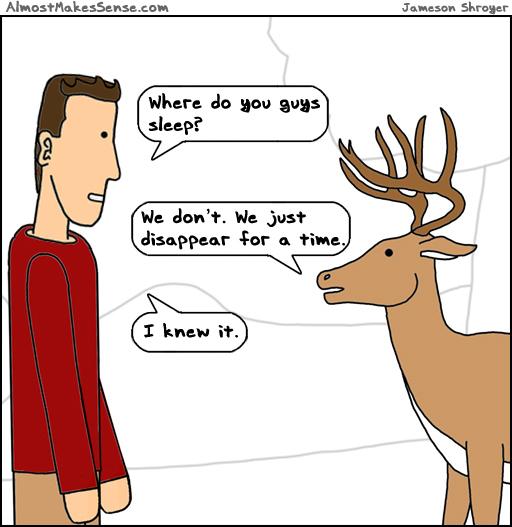 Deer Disappear