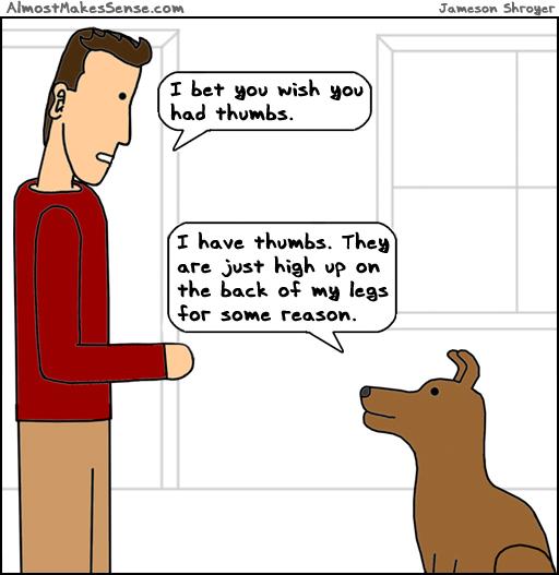 Dog Thumbs