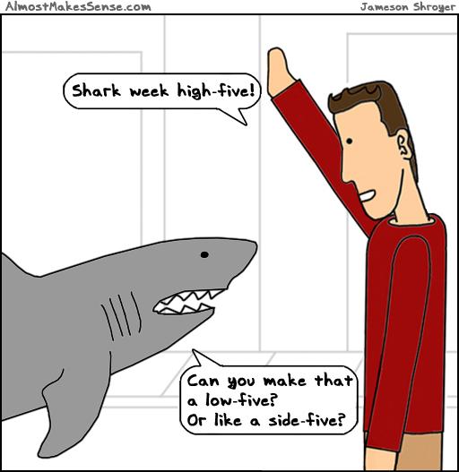 Shark Week Five