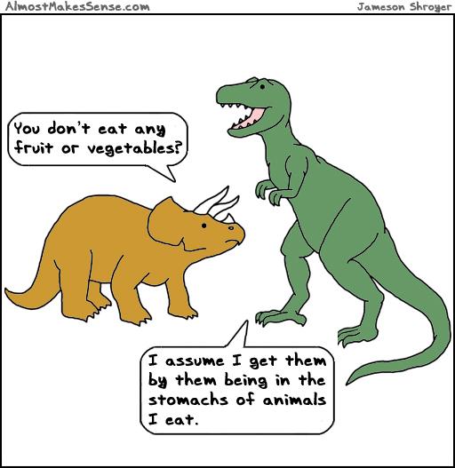 Dinosaur Vegetables