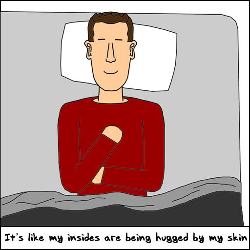 Hugged By Skin