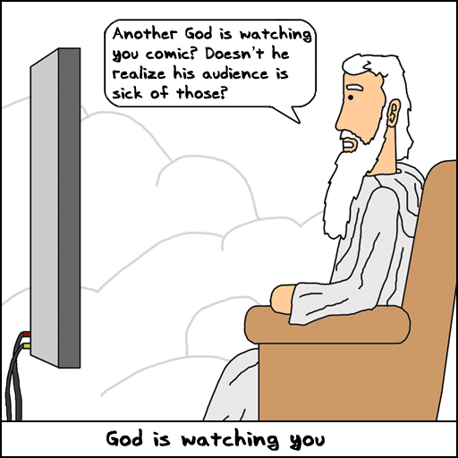 Another God Watching