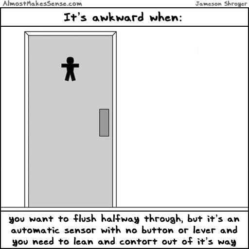 Awkward Flush