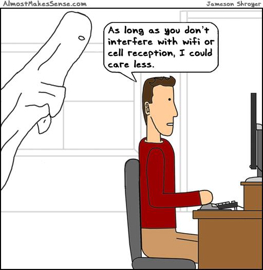 Ghost Reception