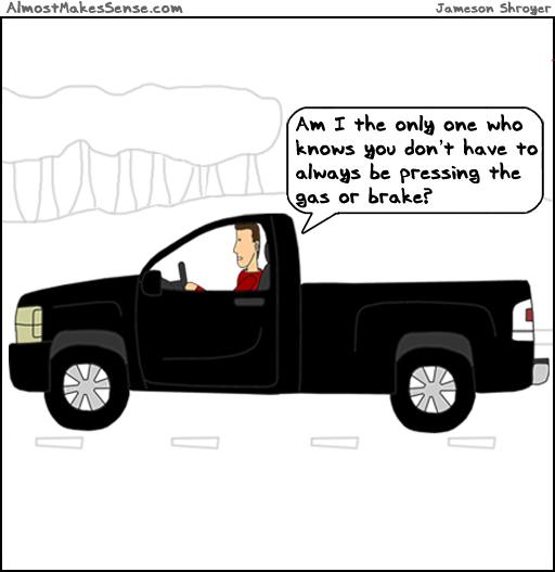 Gas Or Brake