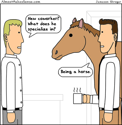 Being A Horse