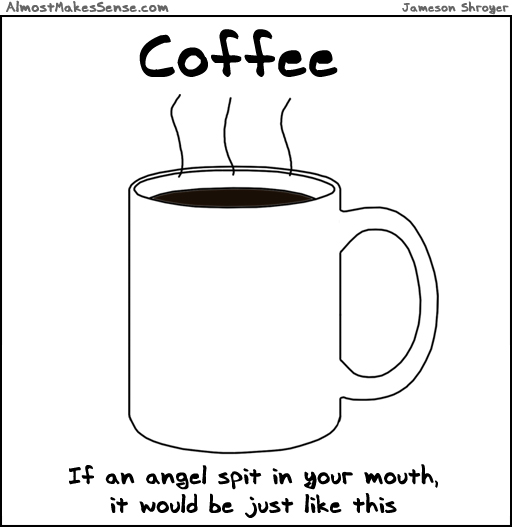 Coffee Angel Spit