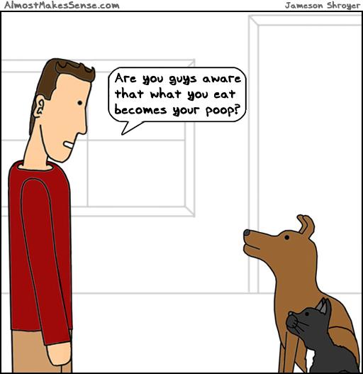 Pets Eat Poop