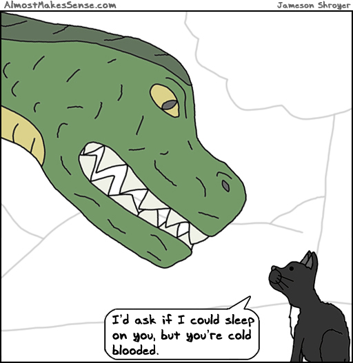 Cat Dino Blooded