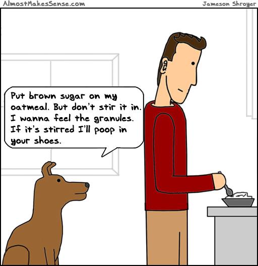 Dog Oatmeal