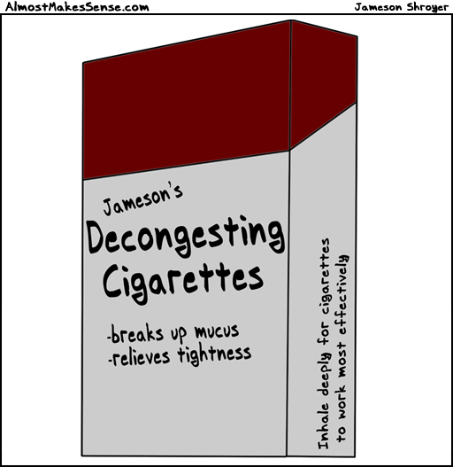 Decongesting Cigarettes