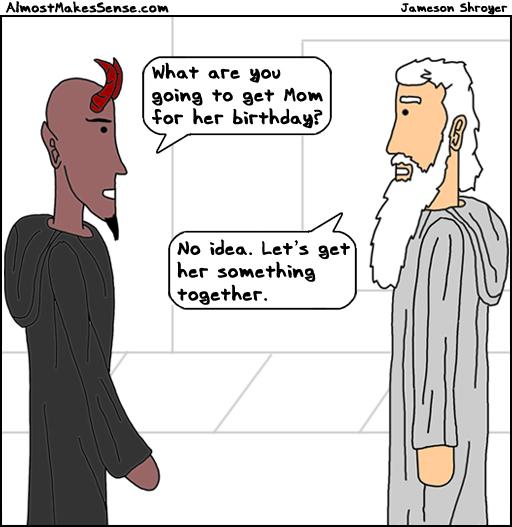 God Devil Mom