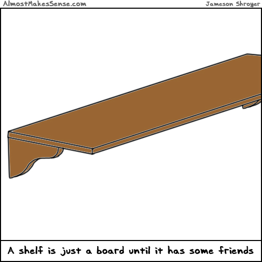 Shelf Friends
