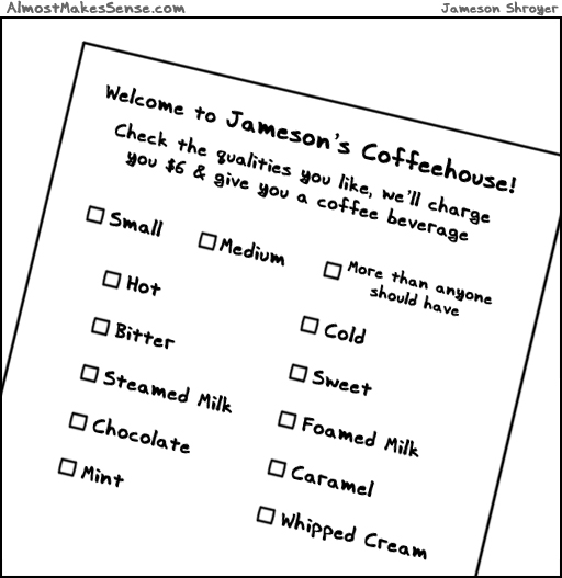 Coffee Order Form