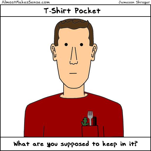 Tshirt Pocket