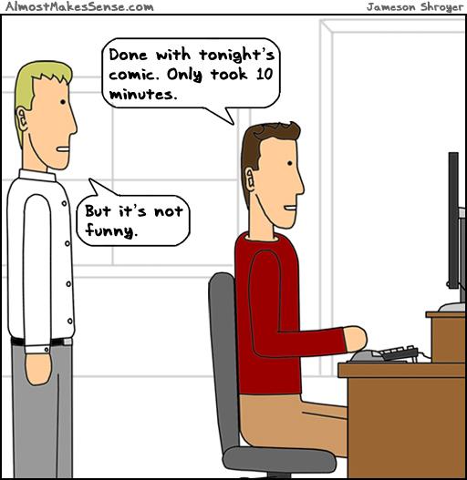 Ten Minute Comic