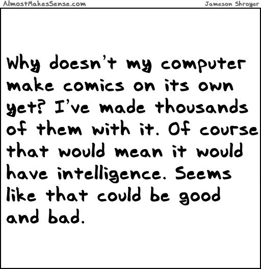 Comics Computer