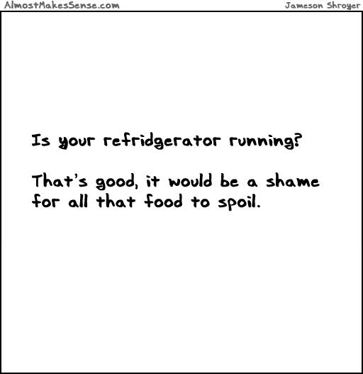 Fridge Running