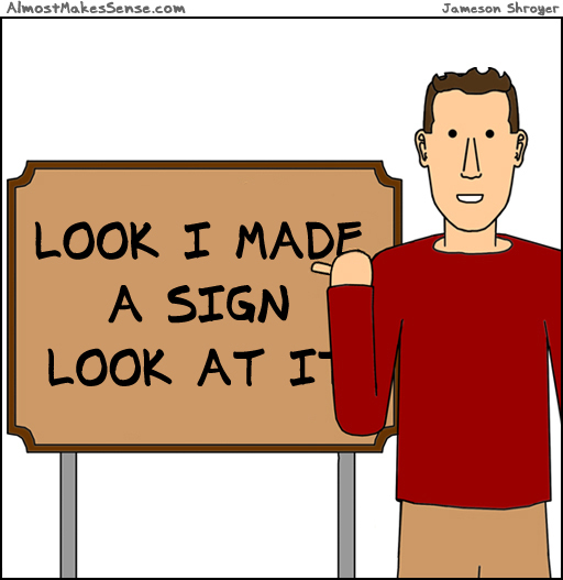 Sign Look