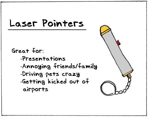 Laserpointers