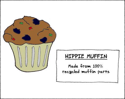 Hippie Muffin