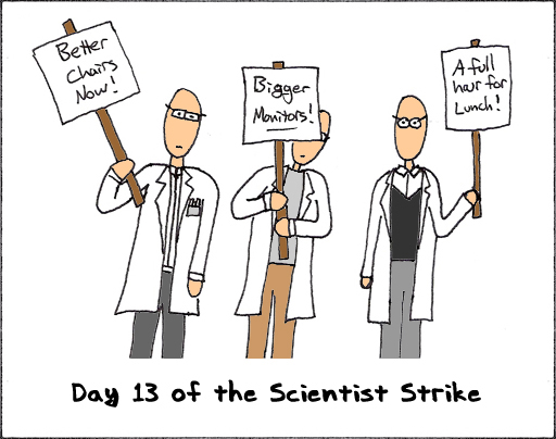 Scientist Strike