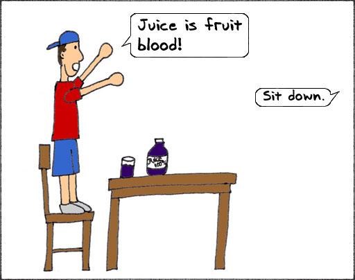 Fruit Blood