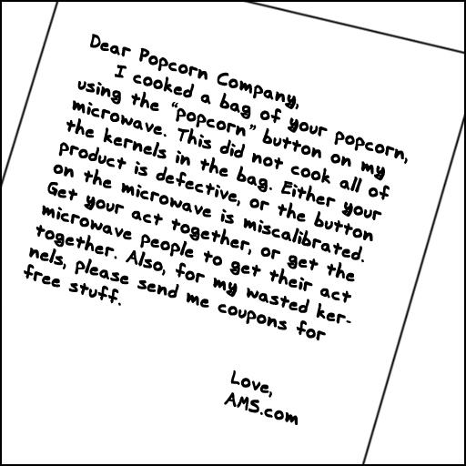 Dear Popcorn