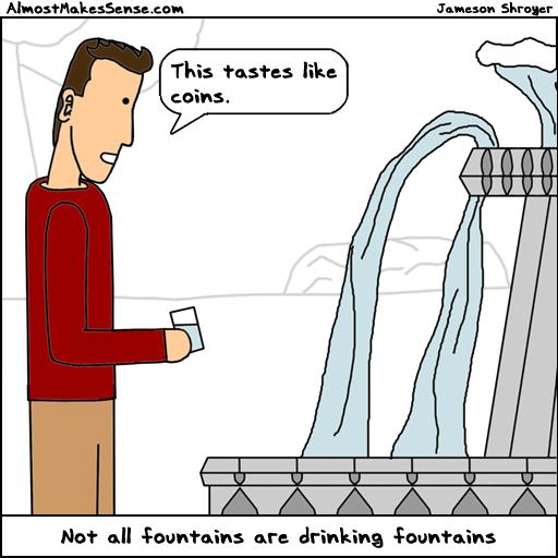 Not Drinking Fountain