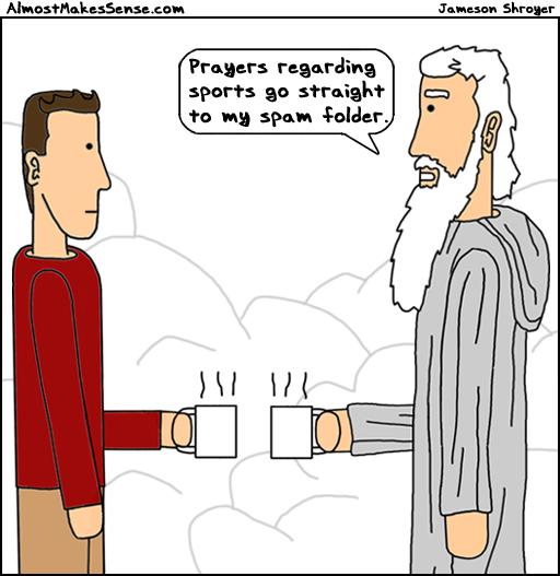 Prayer Spam