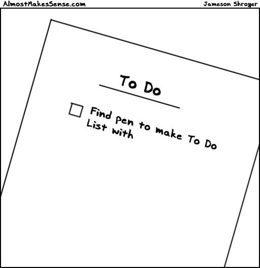 To Do Pen