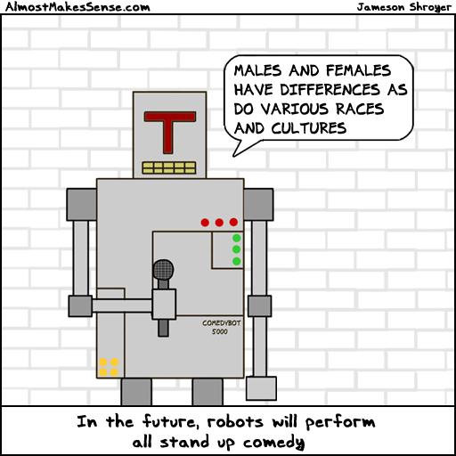 Robot Comedy