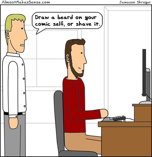Beard Comic